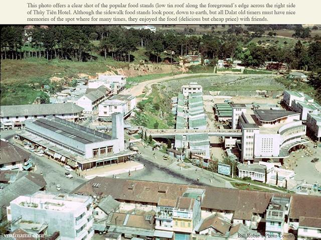 Chợ Đà Lạt xưa nhìn từ trên cao