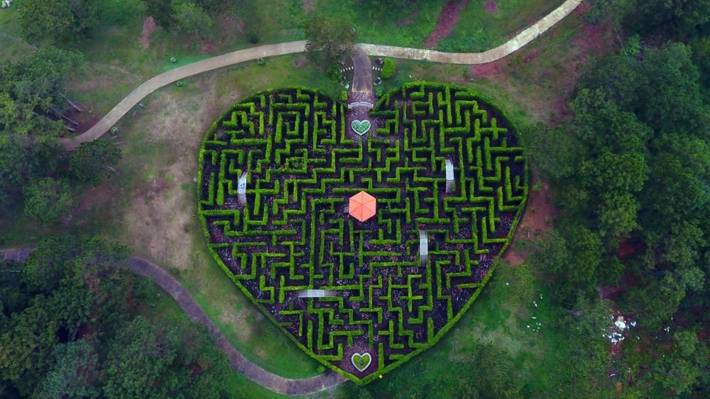 Mê cung trong thung lũng tình yêu