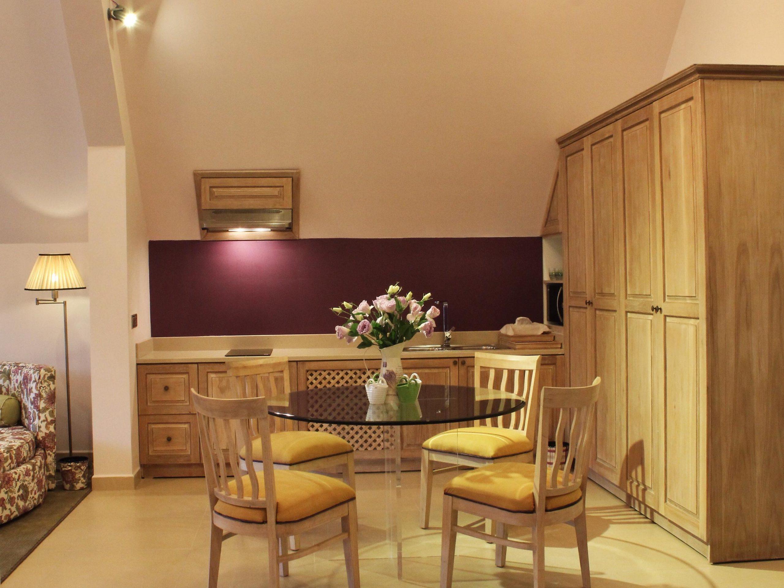 phòng suite gia đình bình an villa