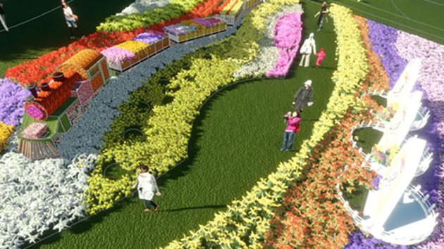 Đà Lạt hối hả chuẩn bị Festival Hoa