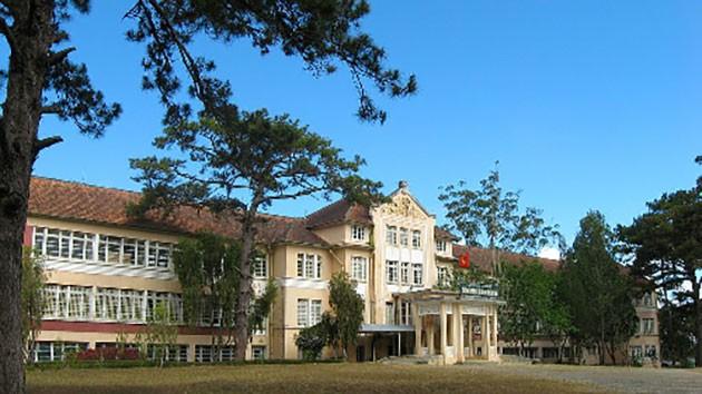 Những ngôi trường hút khách du lịch ở Đà Lạt