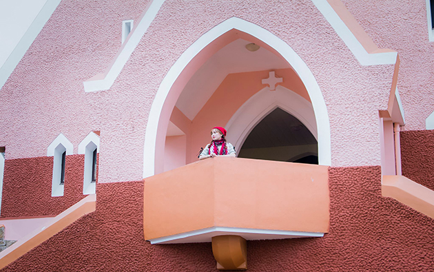 tham quan nhà thờ Domain Đà Lạt
