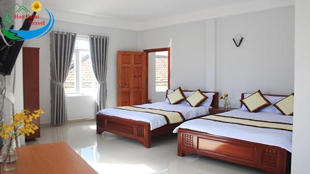 Phòng Dành Cho 4 Khách Tại Khách sạn Phước Thịnh Đà Lạt