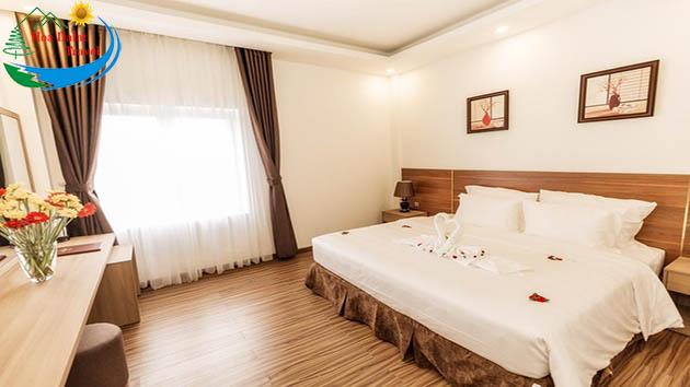 Phòng 2 Khách Tại Khách Sạn President Đà Lạt