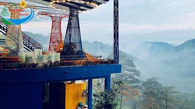 Quán Cà Phê Khu Vườn Trên Mây
