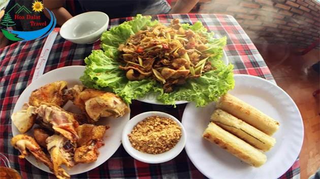 Review Nhà Hàng Hương Rừng