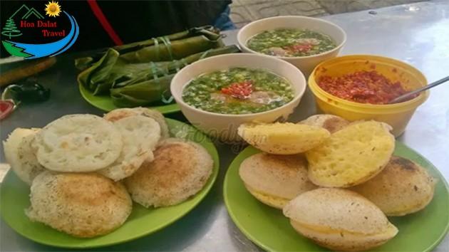 Review Bánh Căn Xíu Mại Cây Bơ