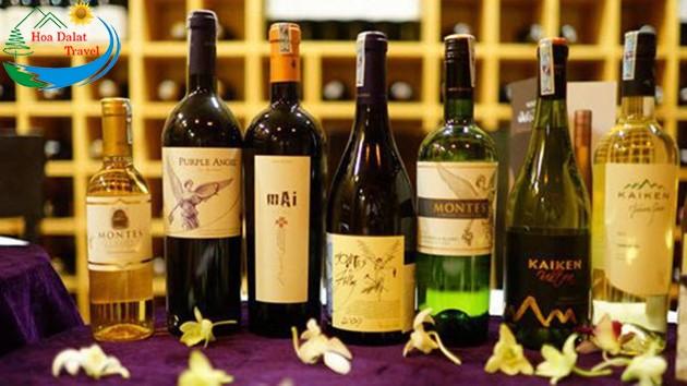 Rượu Vang Đặc Sản Đà Lạt