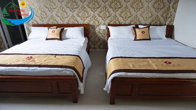Phòng 4 Khách Tại Khách Sạn An An