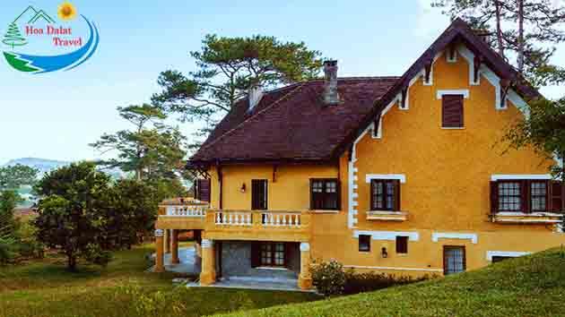 Villa Pháp Cổ Tại Đà Lạt