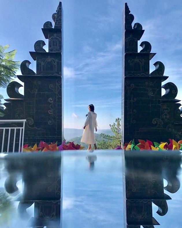Hình Ảnh Đẹp Tại Cổng Trời Bali Đà Lạt