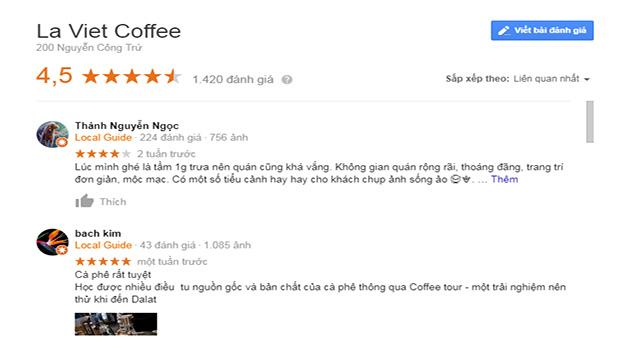 Đánh Giá Là Việt Coffee Đà Lạt