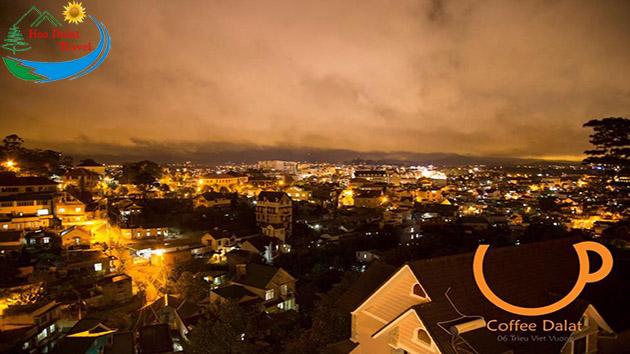 View Nhìn Thành Phố Tuyệt Đẹp Tại Up Coffee Đà Lạt