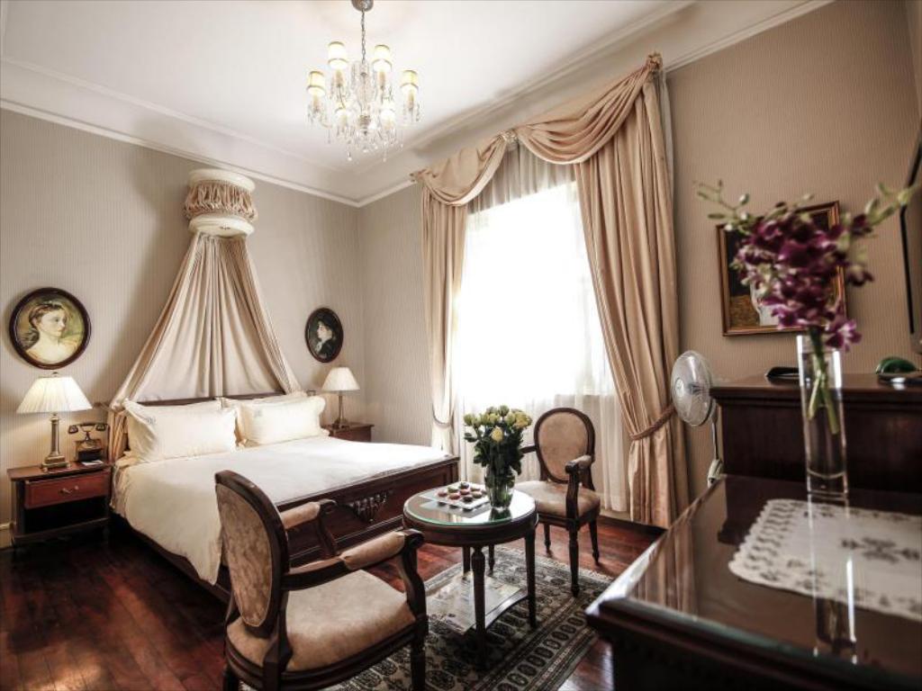 Phòng khách sạn đà lạt palace