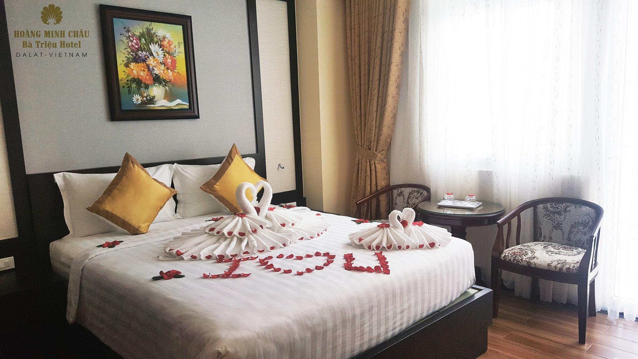 Phòng khách sạn hoàng minh châu