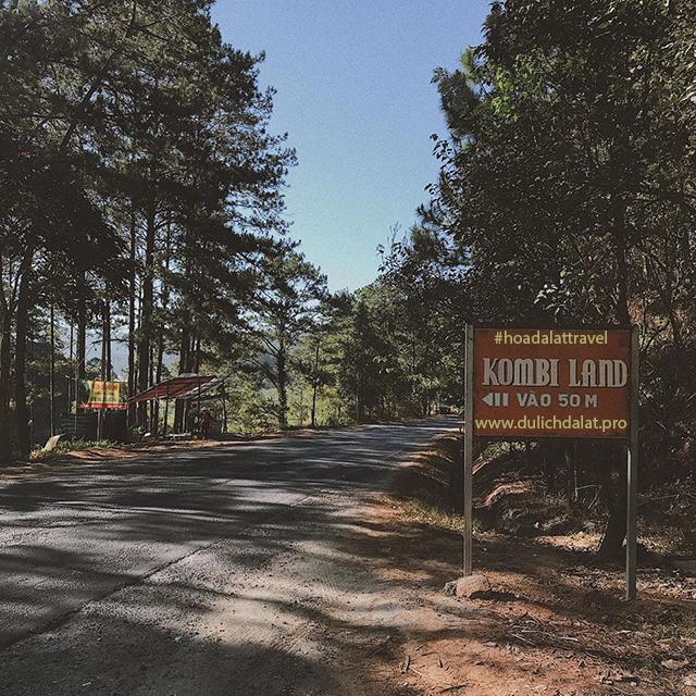 Đường đi tới Kombi Land