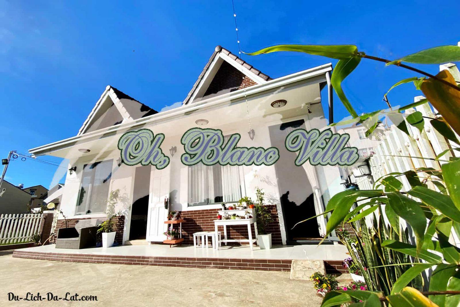 oh blanc villa