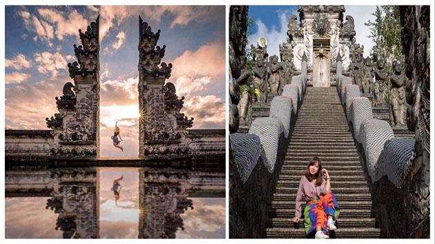 Cổng trời Bali phiên bản thật