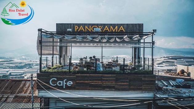 Giới thiệu quán cafe Panorama Đà Lạt