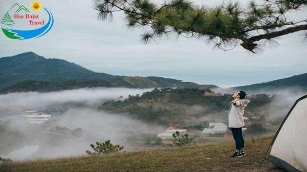 Săn mây tại đồi Thiên Phúc Đức