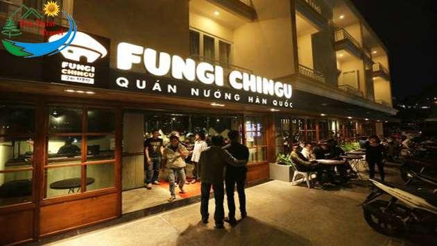 Fungi Chingu ẩm thực Hàn Quốc Đà Lạt
