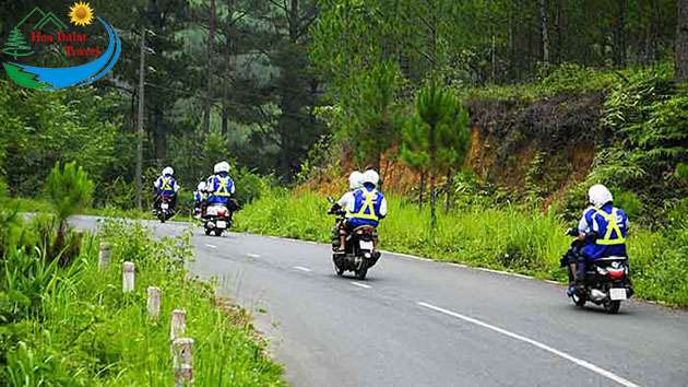 Phượt xe máy Cần Thơ Đà Lạt