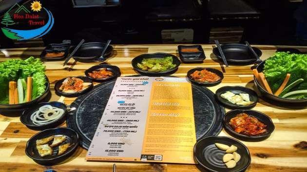 Review Fungi Chingu ẩm thực Hàn Quốc Đà Lạt