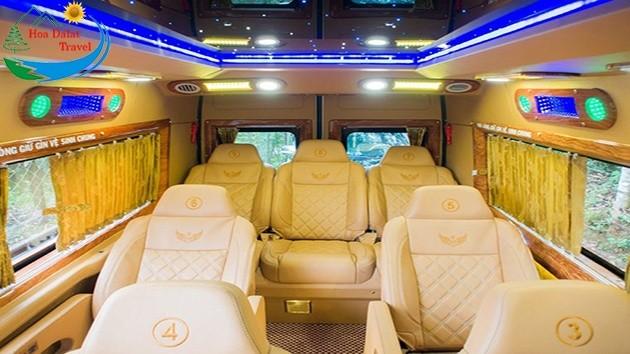 Sài Gòn đi Đà Lạt bằng xe Limousine