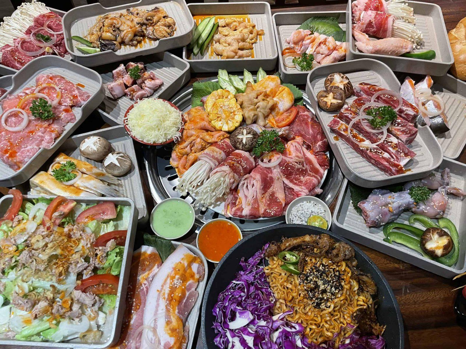 buffet Nậm nướng Xàm Đà Lạt