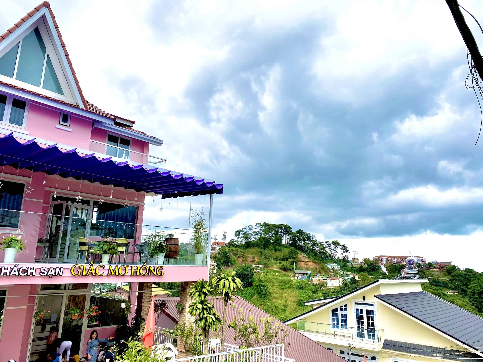 Khách sạn Giấc mơ hồng Đà Lạt