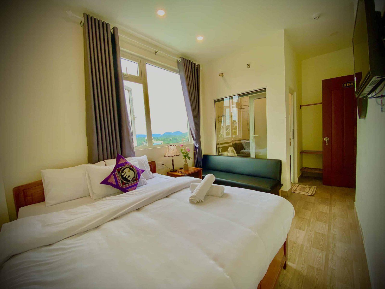 nội thất trong phòng khách sạn giấc mơ hồng