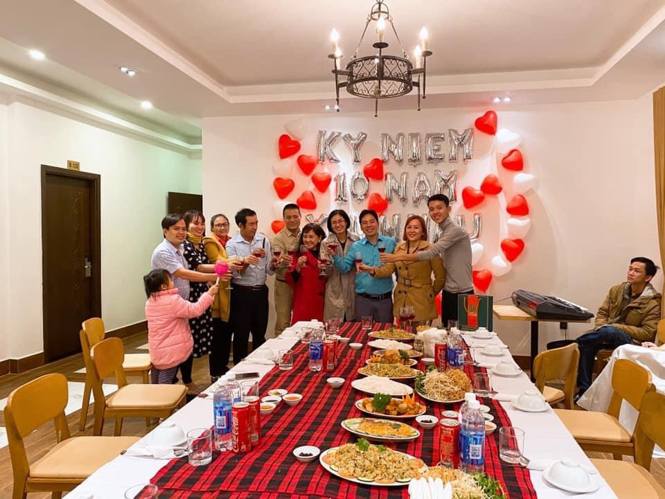 Phòng riêng tổ chức tiệc ở nhà hàng