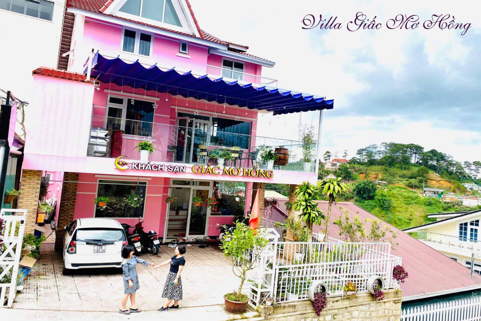 Villa giấc mơ hồng Đà Lạt