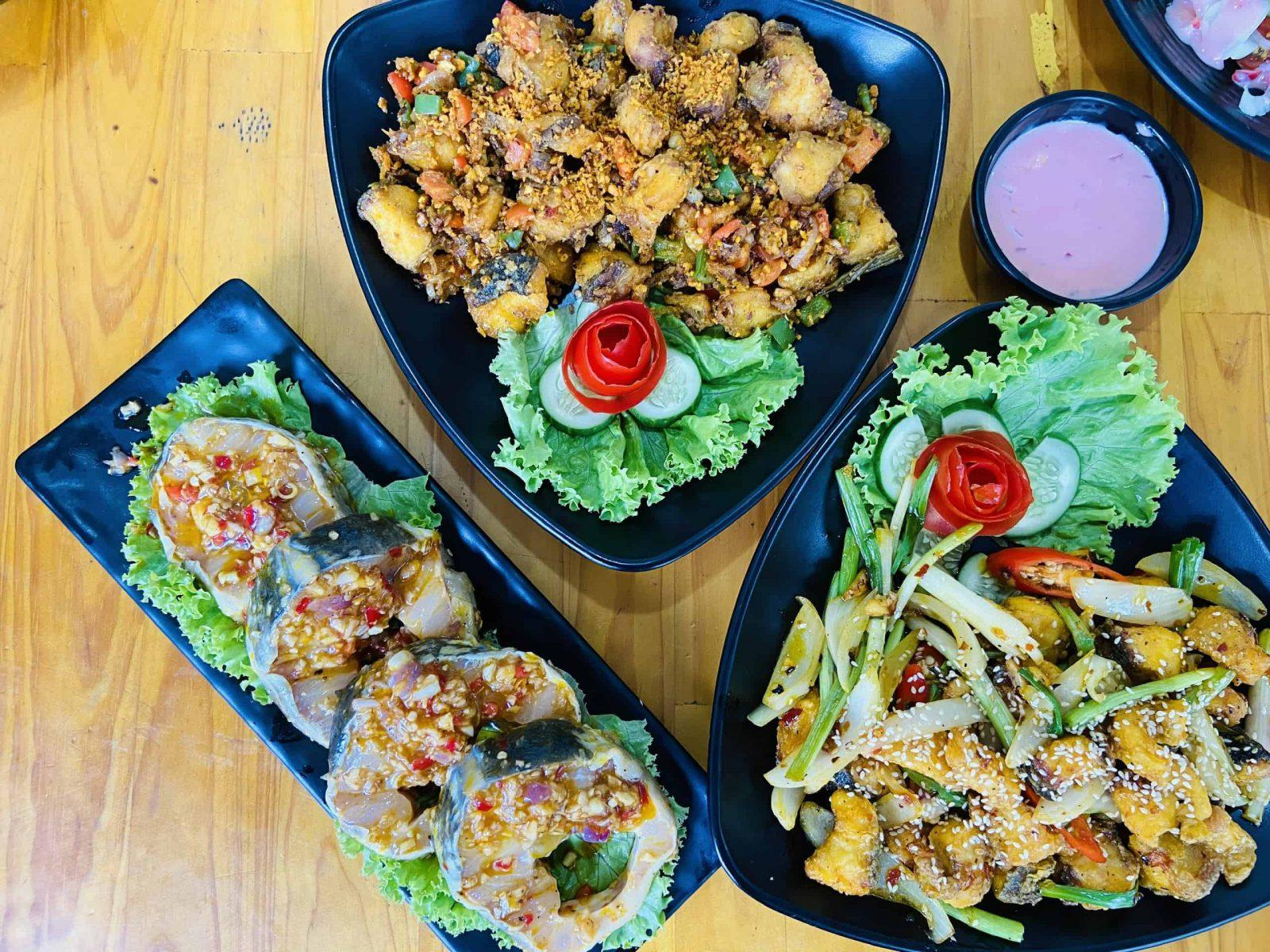 các món ăn khác ở quán lẩu cá tầm măng chua