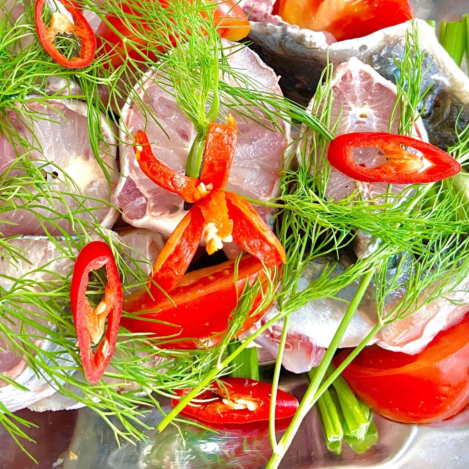 Món lẩu cá tầm