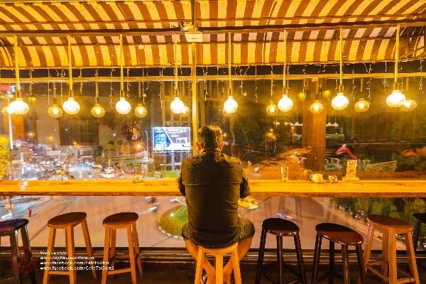 quán cafe Tỏi Đen Đà Lạt